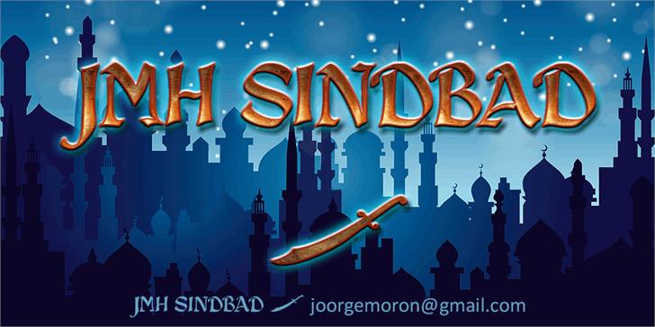 JMH Sindbad font by Joorgemoron@gmail.com