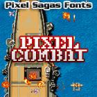 Pixel Combat font by Pixel Sagas