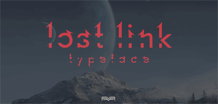 Lost Link font by Eberth Vera Graphics
