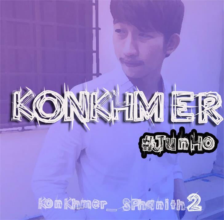 KonKhmer_S-Phanith2 font by Suonmay Sophanith