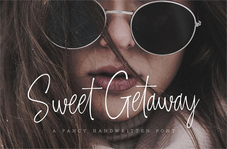 Sweet Getaway DEMO font by Konstantine Studio