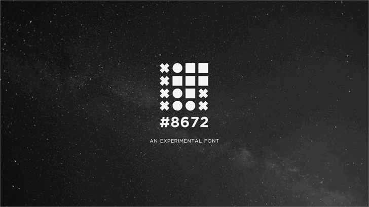 EightySixSeventyTwo font by RedFive