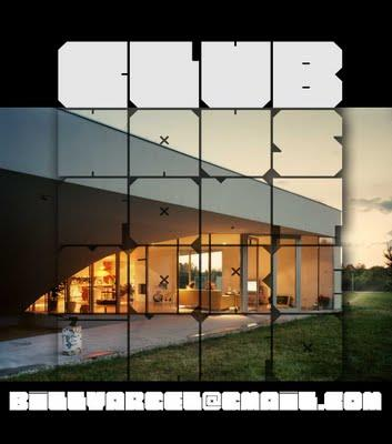 CLUB HAUS font by Billy Argel