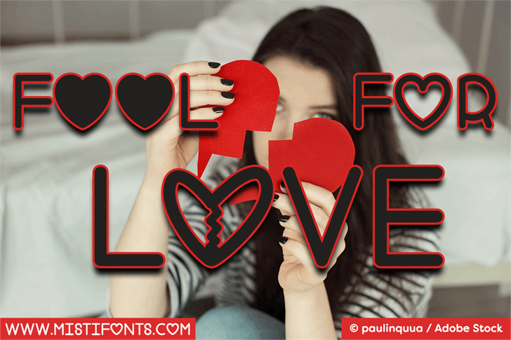 Fool For Love font by Misti's Fonts