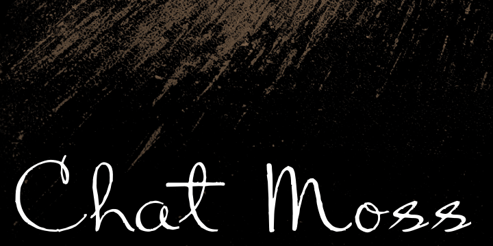 Chart Moss font by Intellecta Design