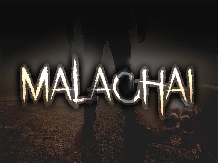 Malachai font by Font Monger