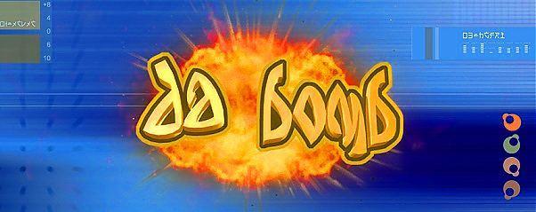 Da Bomb font by Future Fonts