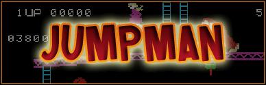 Jumpman font by Pixel Sagas