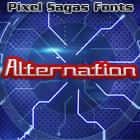 Alternation font by Pixel Sagas