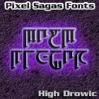 High Drowic font by Pixel Sagas