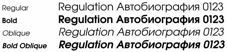 Evolventa font by Evolventa