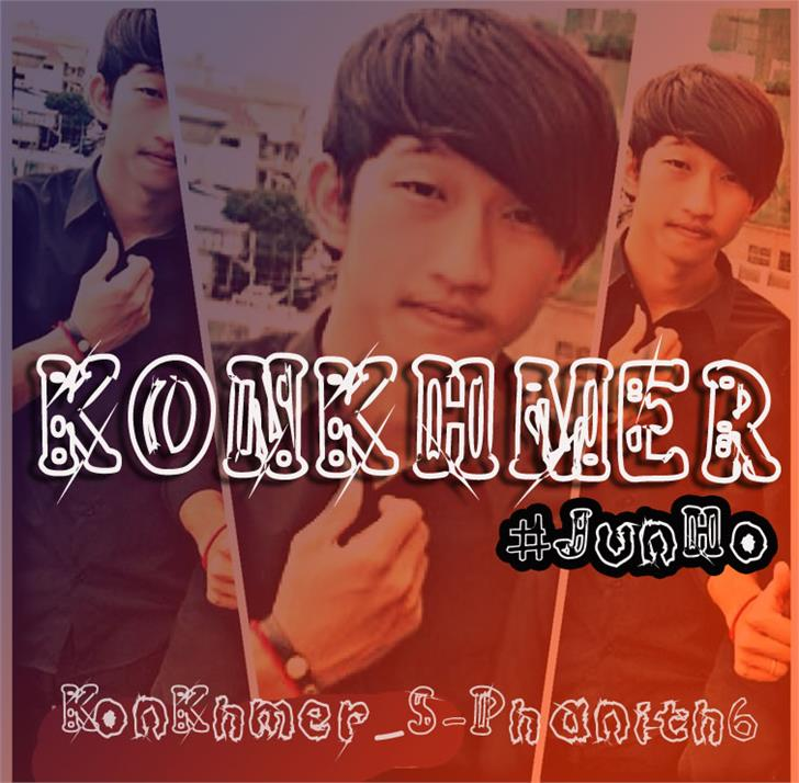 KonKhmer_S-Phanith6 font by Suonmay Sophanith
