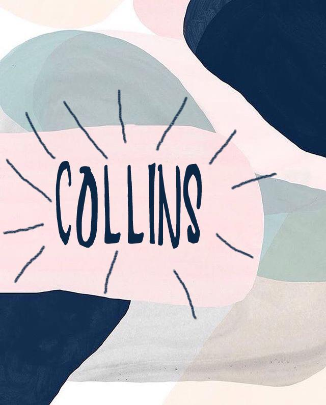 COLLINS font by auliyays24