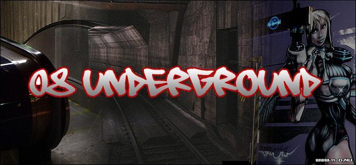 08 Underground font by 11-D