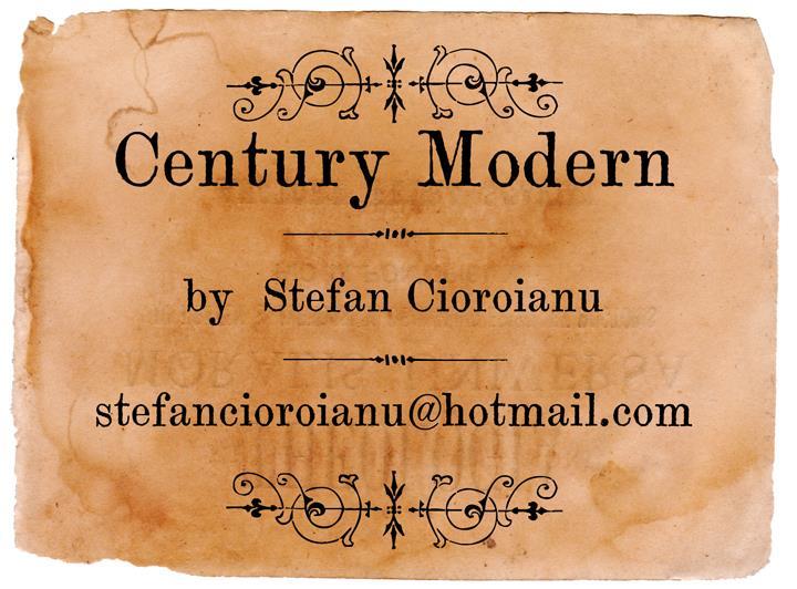 Century Modern font by Cioroianu Stefan