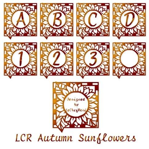 LCR Autumn Sunflowers font by LeChefRene