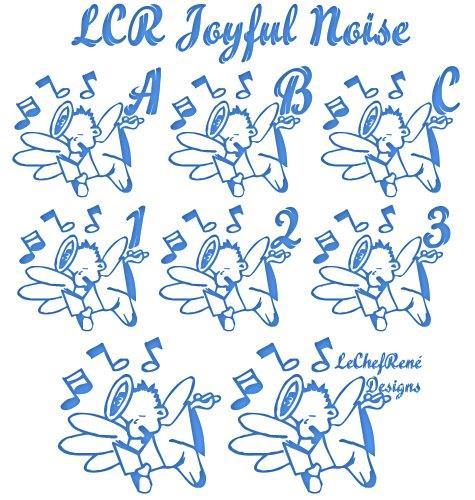 LCR Joyful Noise font by LeChefRene