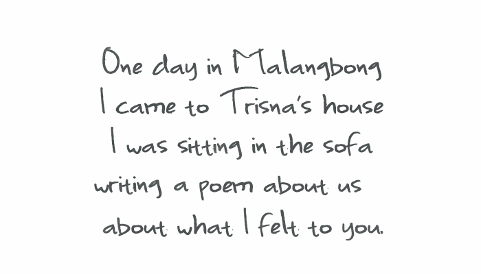 One Day in Malangbong font by 'Sanz Fonts