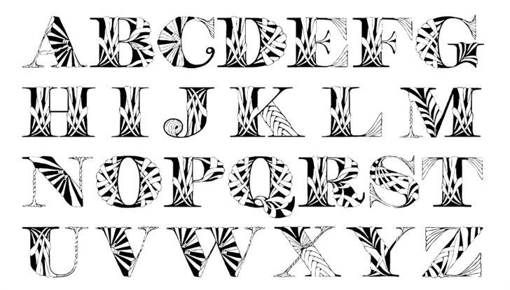 Portabell font by Eva Barabasne Olasz