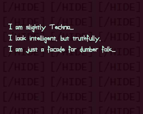 Slightly Techno font by Phantomhive Company