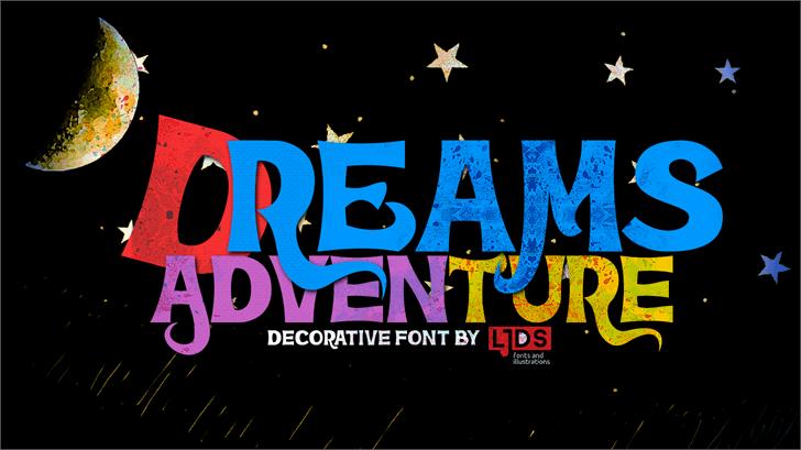 Dreams Adventure Font poster