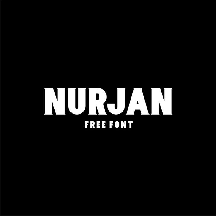 Nurjan font by Twicolabs