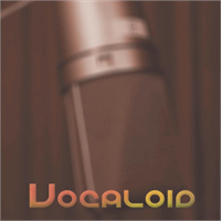 Vocaloid font by Megami Studios