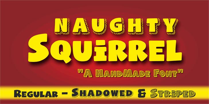 Naughty Squirrel Demo Font poster screenshot