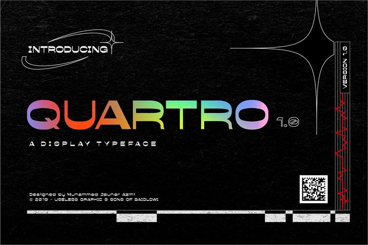Quartro Font screenshot