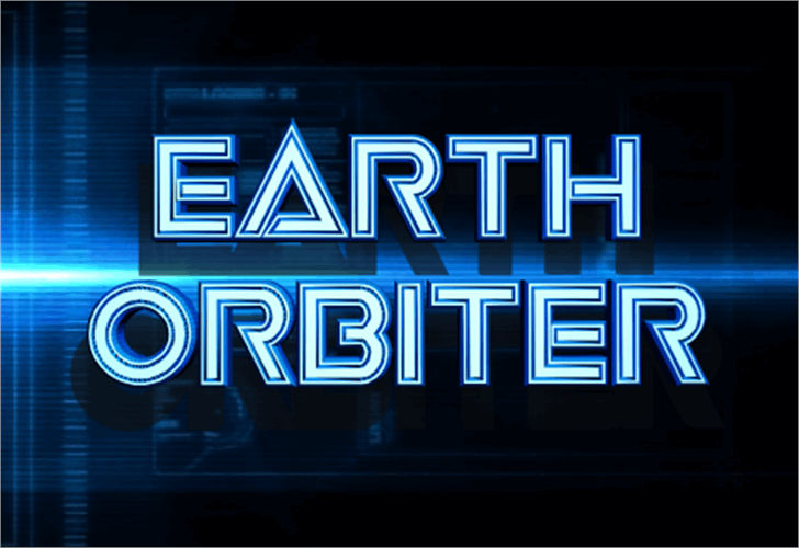 Earth Orbiter font by Iconian Fonts