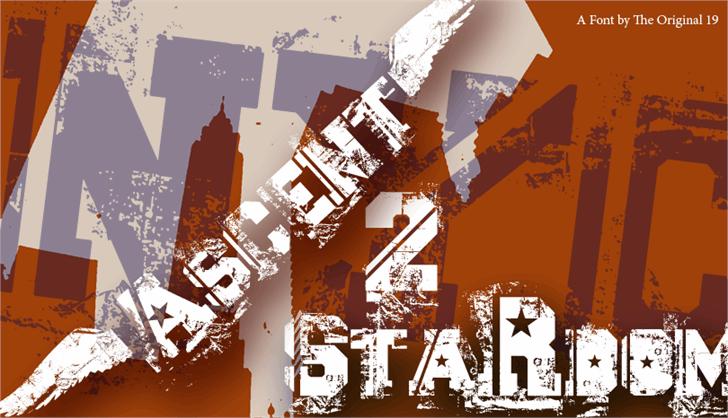 Ascent 2 Stardom font by The Original 19