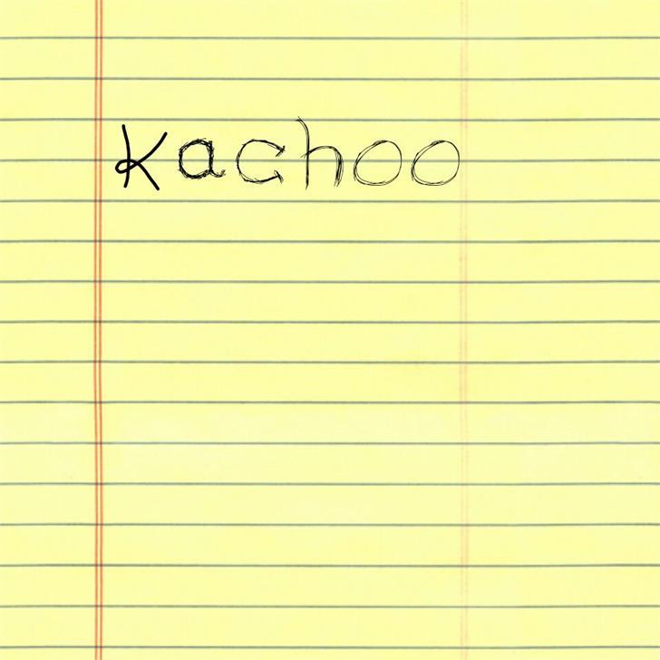 Kachoo Font handwriting letter