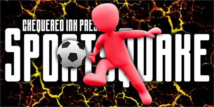 Sportsquake Font soccer ball