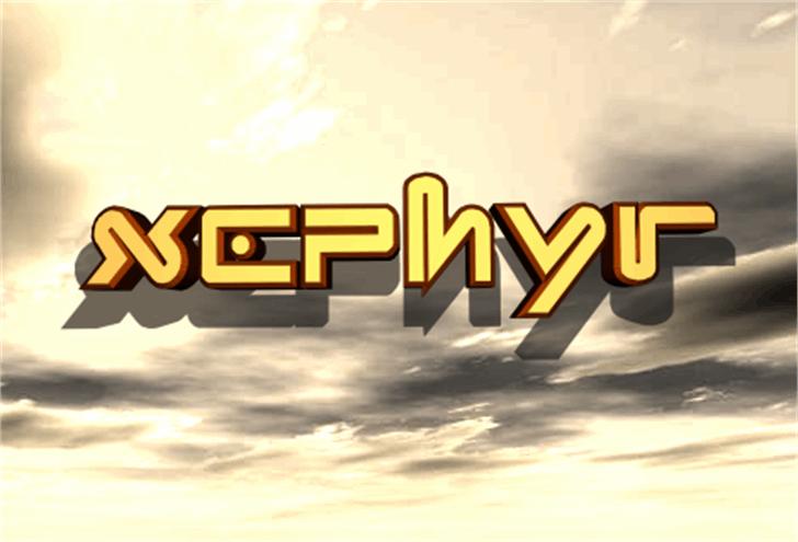 Xephyr Font outdoor screenshot
