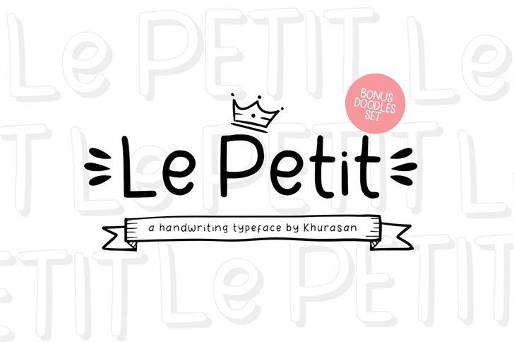 Le Petit Font poster