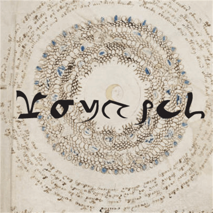 Voynich Font art drawing