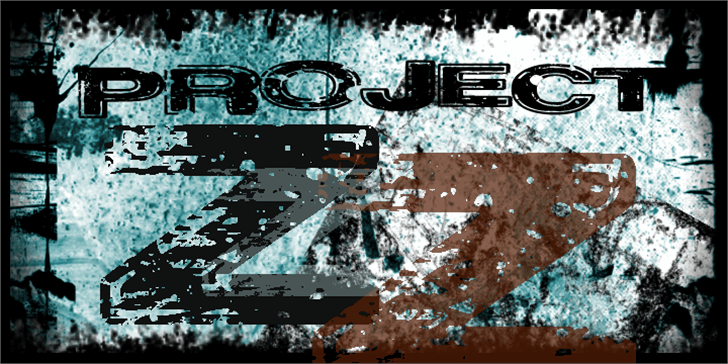 Project Z Font screenshot drawing