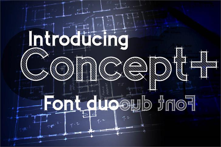 Concept Font handwriting