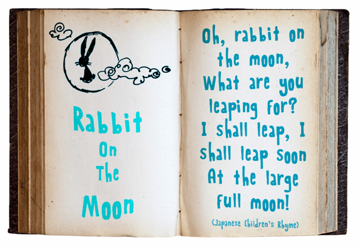 Rabbit On The Moon font by David Kerkhoff