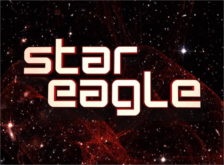 Star Eagle 2 Font tree