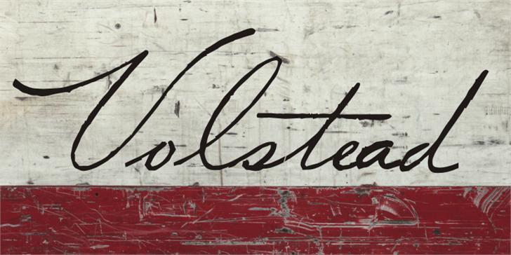 Volstead font by Intellecta Design