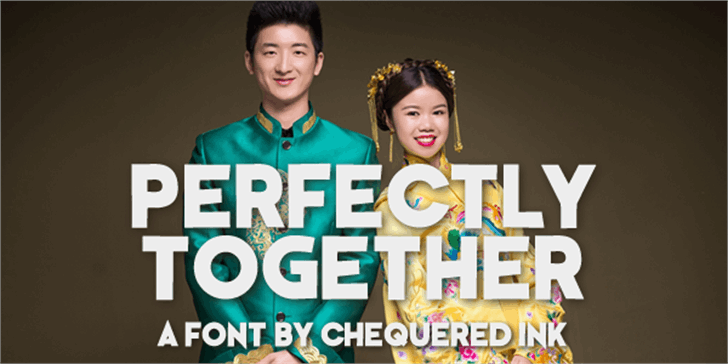 Perfectly Together Font smile human face