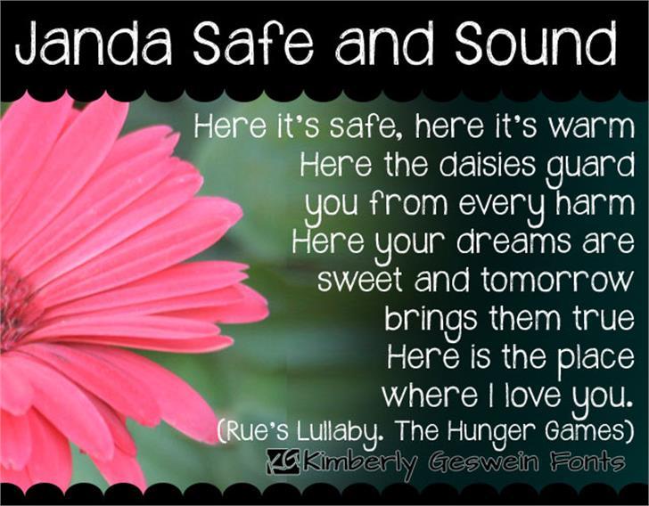 Janda Safe and Sound Font plant flower
