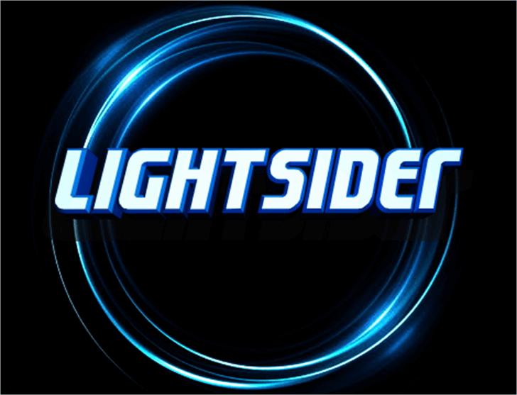 Lightsider Font light