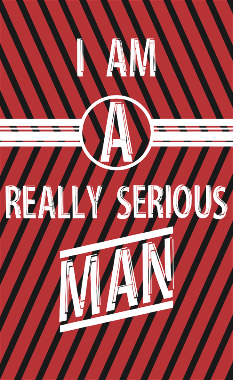 Serious Man Font poster screenshot