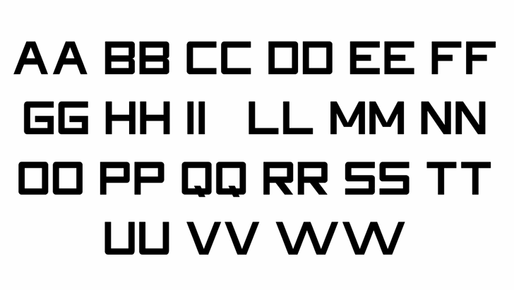 HDRight font by FontStudio LAB