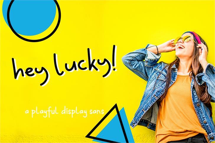 Hey Lucky font by Creatype Studio