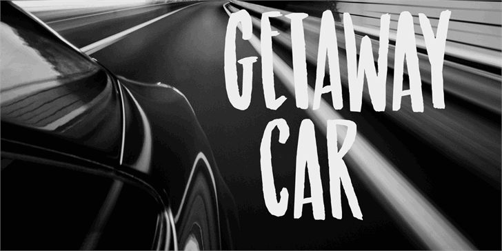 Getaway Car DEMO Font land vehicle vehicle