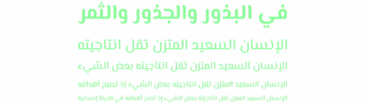El Messiri Font poster