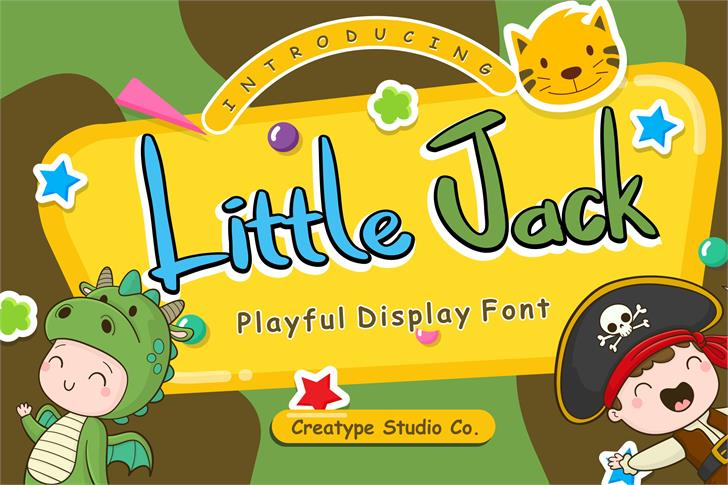 Little Jack Font poster